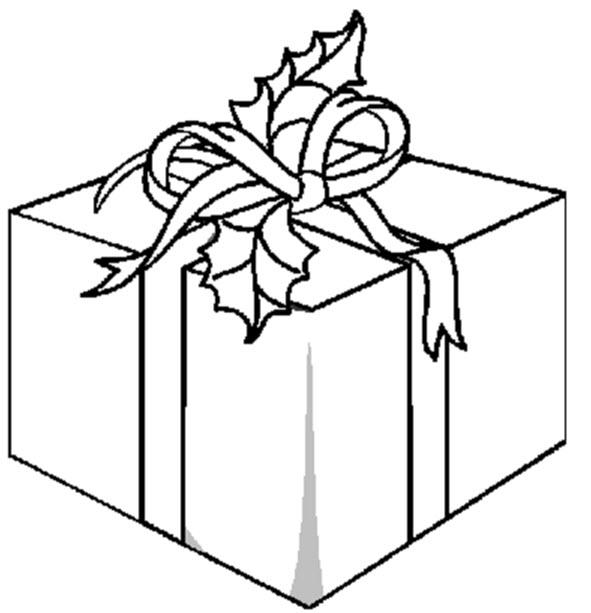 Dessin de cadeaux - Cadeau coloriage ...