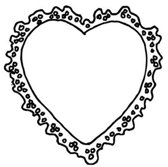 Dessin coeurs - Dessin de coeur a colorier ...