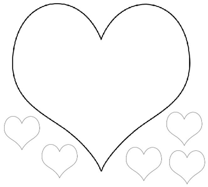 Coeur de st valentin colorier - Image de coeur a colorier ...