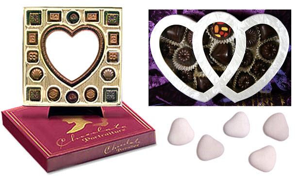 Coloriage Coeur Chocolat.Dessin A Colorier De Coeur En Chocolat