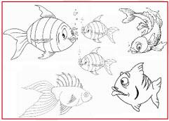 Jeu de poisson d'Avril