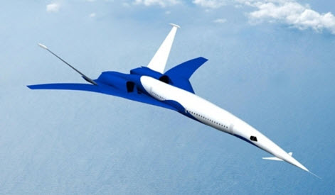 avion supersonique